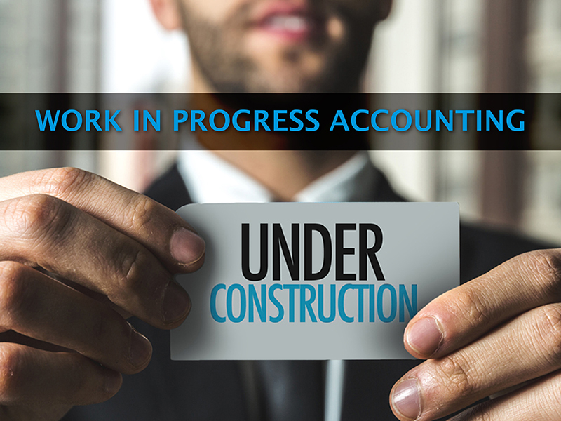 Work in progress accounting