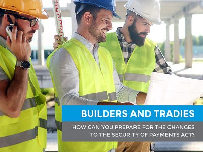 The Security of Payments Act NSW